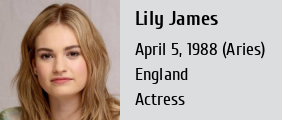 lily james wiki