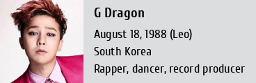 g dragon weight and height