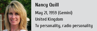 Nancy Quill Height Weight Size Body Measurements Biography Wiki