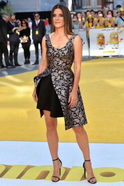 Sandra Bullock Height, Weight, Size, Body Measurements